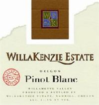 WillaKenzie Estate Pinot Blanc Estate Bottled